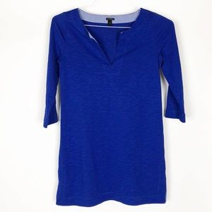 J. Crew Knit Tunic Blue dress styles 69609